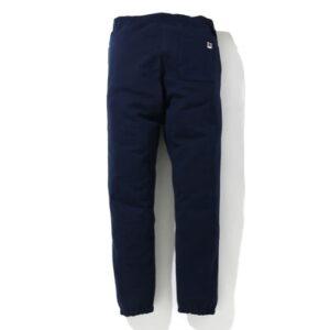 BAPE Classic College Slim Sweat Pants Navy 2