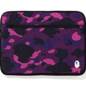 BAPE Color Camo PC Case 15in Purple 1