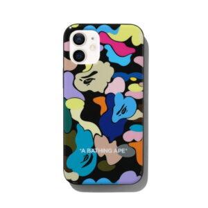 BAPE Multi Camo iPhone 12 Mini Case Black 1