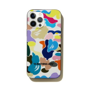BAPE Multi Camo iPhone 12 Pro Max Case White 1