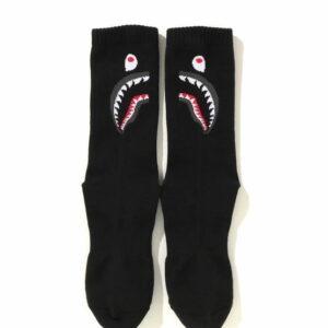BAPE Shark Socks Black 2