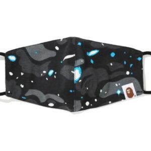 BAPE Space Camo Mask FW20 Black 1