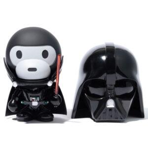 BAPE Star Wars x Baby Milo VCD Darth Vader Black 1