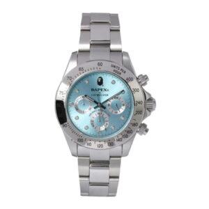 BAPE Type 3 Bapex Watch Silver 1