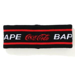 BAPE x Coca Cola Headband Black 1