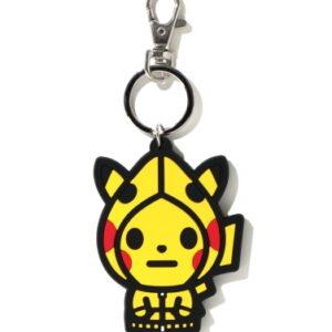 BAPE x Pokemon Keychain Yellow 1