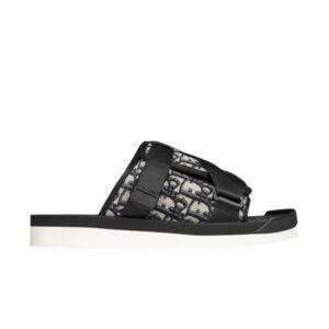 Dior Alpha Sandal Dior Oblique Beige Black
