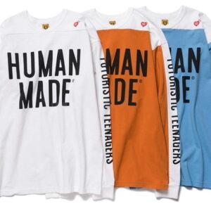HUMAN MADE Futuristic Long Sleeve T Shirt Multicolor 1