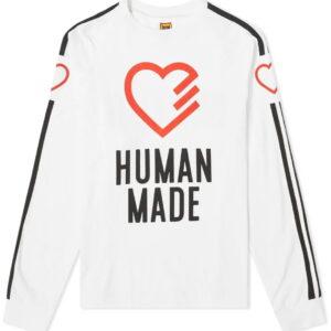 HUMAN MADE Heart Long Sleeve T Shirt 1