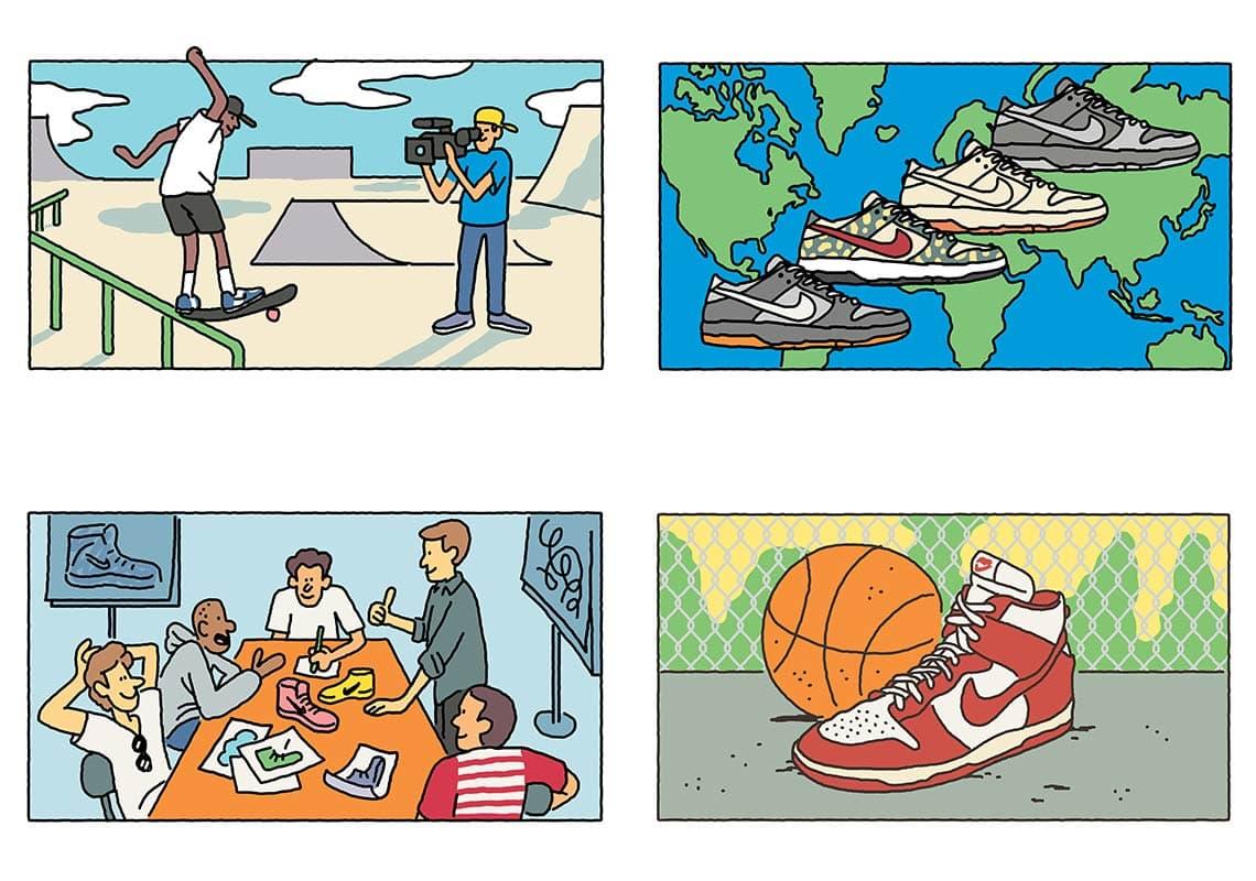 Istoriya legendarnoj modeli Nike Dunk