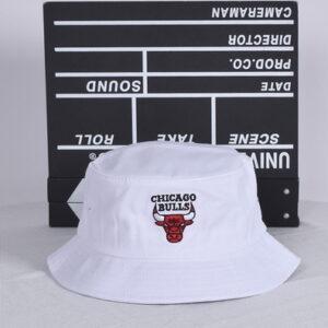 NBA Chicago Bulls Bucket Hat Black White 2