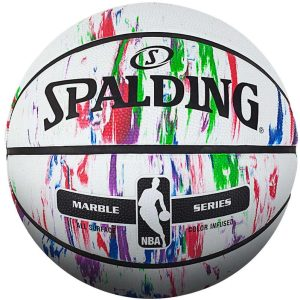 NBA Marble Series Spalding Basketball Ball Infused 1