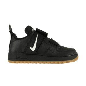Nike Air Force 1 Utility GS Black White Gum