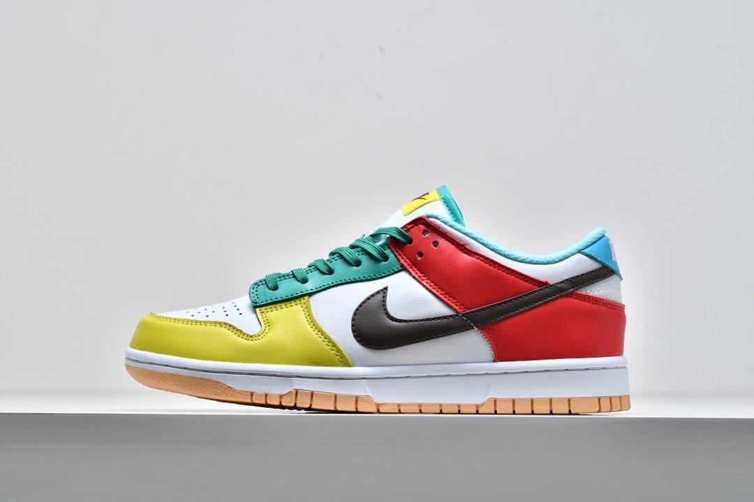 Nike Dunk Low SE Free.99 White 1