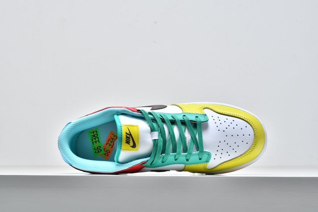 Nike Dunk Low SE Free.99 White 2