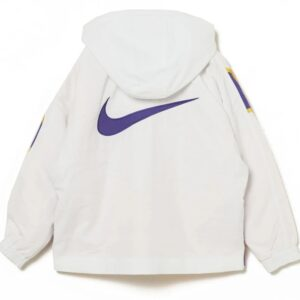 Nike x Ambush NBA Collection Lakers Jacket White Purple Gold 2