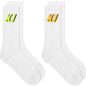 Nike x Kim Jones Crew Socks White 1