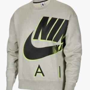 Nike x Kim Jones Fleece Crewneck Grey 1