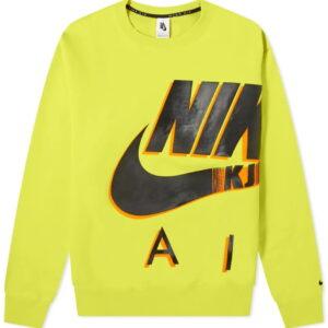 Nike x Kim Jones Fleece Crewneck Volt 1