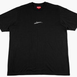Supreme Signature Short Sleeve Top Black 1