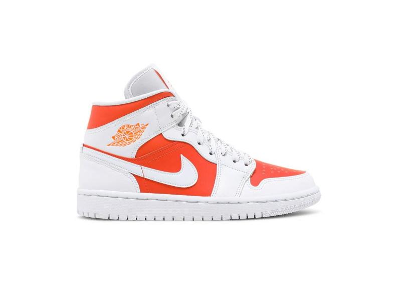 Wmns Air Jordan 1 Mid SE Bright Citrus