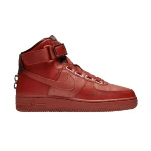 Wmns Nike Air Force 1 High Utility Dune Red