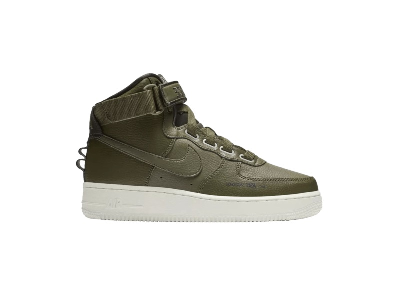 Wmns Nike Air Force 1 High Utility Olive Canvas