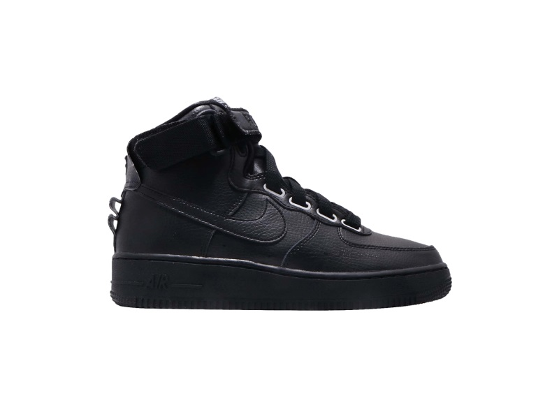Wmns Nike Air Force 1 High Utility Triple Black