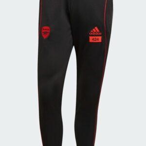 adidas x Arsenal x 424 Training Tracksuit Bottoms Black 1