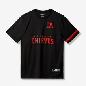 100 Thieves LA Thieves Official Home Jersey Black