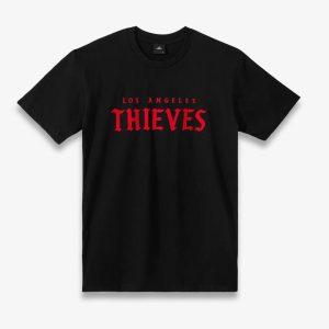 100 Thieves LA Thieves Signature SS Tee Black