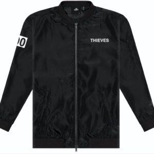 100 Thieves Numbers Bomber Jacket Black