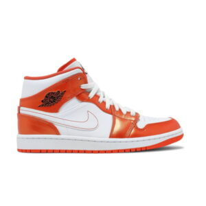 Air Jordan 1 Mid SE Electro Orange 1
