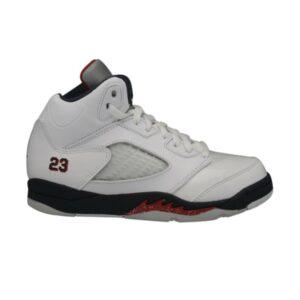 Air Jordan 5 Retro PS White Varsity Red