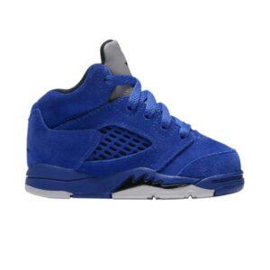 Air Jordan 5 Retro TD Blue Suede
