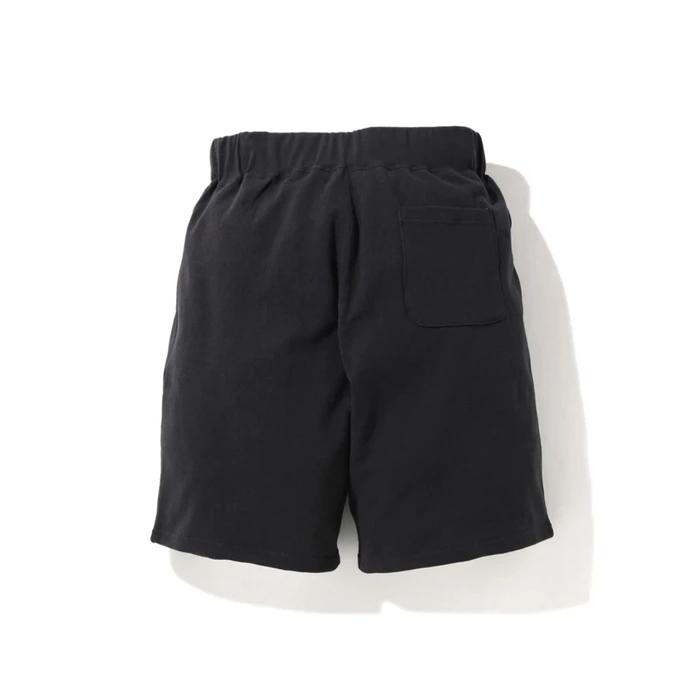 BAPE A Bathing Ape Shark Wide Sweat Shorts Black 2
