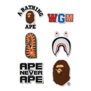 BAPE A Bathing Ape Sticker Pack Multi 1