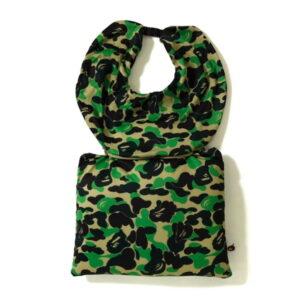 BAPE ABC 2Way Neck Pillow Green 1
