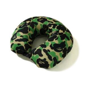 BAPE ABC 2Way Neck Pillow Green 2