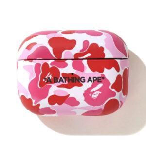 BAPE ABC Camo Airpods Pro Case Pink 1