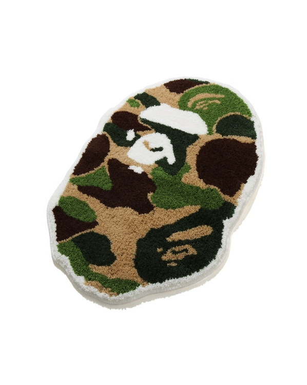 BAPE ABC Camo Ape Head Rug Green 2