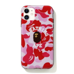 BAPE ABC Camo College iPhone 11 Case Pink 1