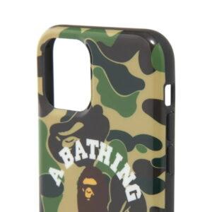 BAPE ABC Camo College iPhone 11 Pro Case Green 2