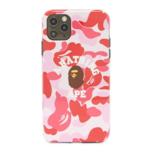 BAPE ABC Camo College iPhone 11 Pro Max Case Pink 1
