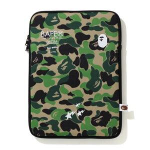 BAPE ABC Camo PC Case Green 1