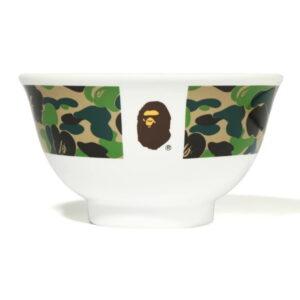 BAPE ABC Camo Rice Bowl Green 1