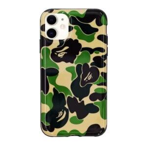 BAPE ABC Camo iPhone 11 Case Green 1