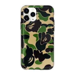 BAPE ABC Camo iPhone 11 Pro Case Green 1