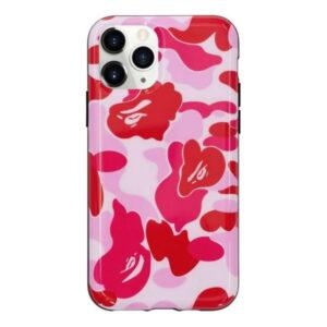 BAPE ABC Camo iPhone 11 Pro Case Pink 1