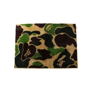 BAPE ABC Rug Green 1